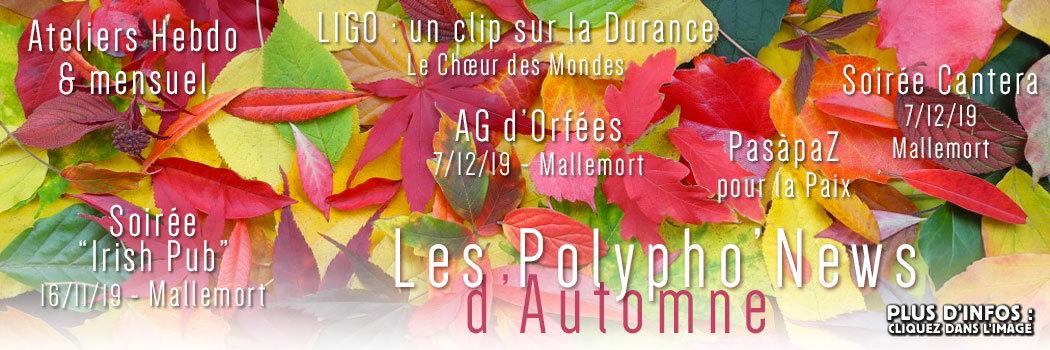 Les Polyphonews nov2019